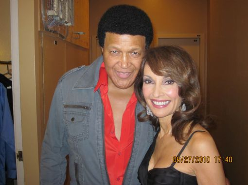 Chubby & Susan Lucci/2010 Daytime Emmy Awards