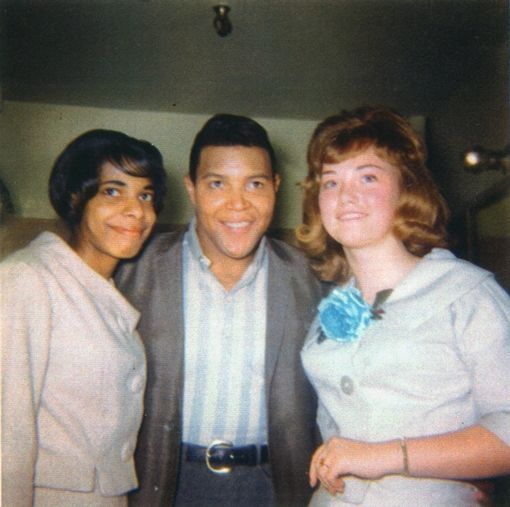 Chubby Checkers & fans
