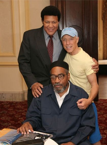 Chubby with Kenny Gamble and Jerry Blavat at R&B Awards