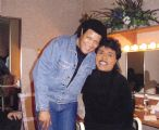 Chubby with Little Richard