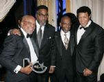 Chubby with Barry Gordy, Leon Huff, & Kenny Gamble at the R&B Awards